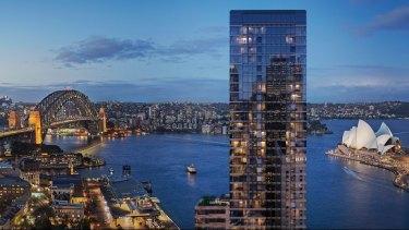 New apartments at One Circular Quay, Sydney, by Wanda.