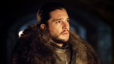 In the dark: Kit Harington as Jon Snow in <i>Game of Thrones</i>.
