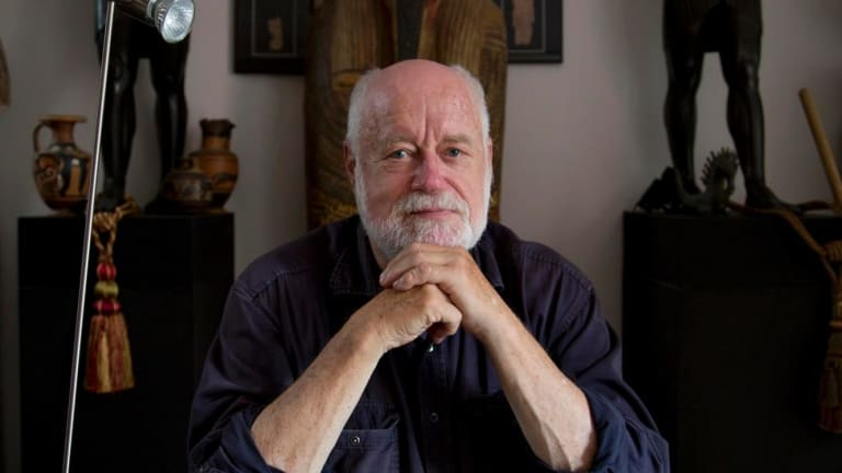 Phillip Adams, photographed for the Death Letter Project.