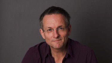 Health rebel: Dr Michael Mosley.