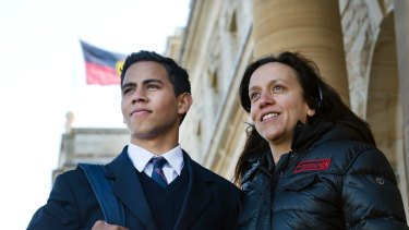 Rachel Perkins on the set of Redfern Now, which is considered a pivotal moment in the acceptance of Indigenous stories.