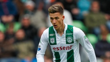 Bolter: 20-year-old Ajdin Hrustic of Groningen  could find himself in a Socceroos jersey.