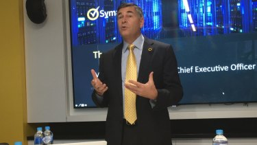 Symantec president and chief executive officer Michael Brown.