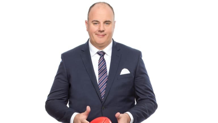 Hutchy will helm <i>The Footy Show</i>.