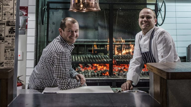 Award winning: Hopscotch Bar co-owners Brian Smith and Nick Parkinson.
