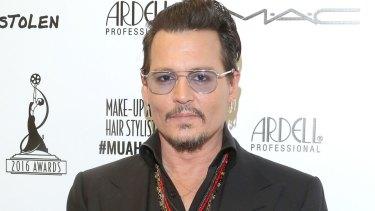 Selling assets: Johnny Depp.