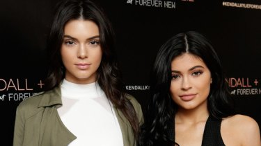 Just 10 minutes before reality TV stars Kendall and Kylie Jenner were set to appear at Westfield Parramatta on Tuesday evening, four eggs were thrown at the stage.