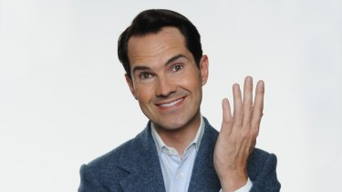 Jimmy Carr silenced a roomful of celebrities with a joke about Reeva Steenkamp.