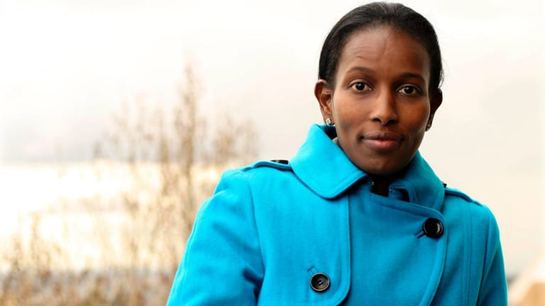 Ayaan Hirsi Ali said she cancelled a visit to Australia this week after because of threats to her safety.