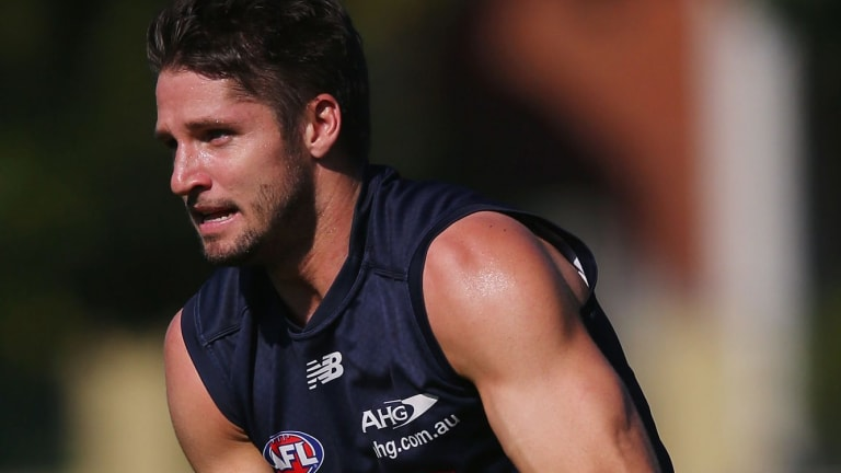 Jesse Hogan  will be given as much time away from the AFL as necessary after the death of his father.
