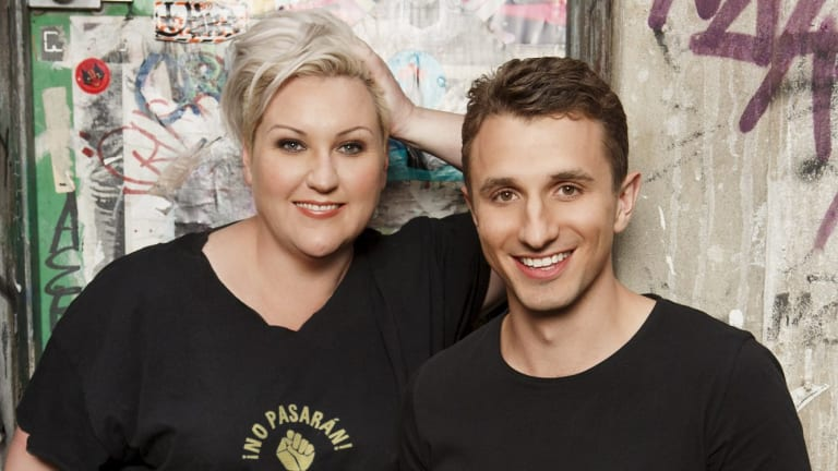Meshel Laurie has announced she is leaving her Nova show with Tommy Little.