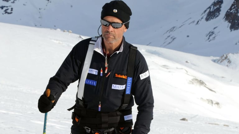 Former SAS officer Henry Worsley's ill-fated 2012 attempt to cross Antarctica alone is the subject of The White Darkness.