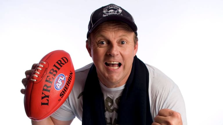 Billy Brownless is an ambassador for the White Ribbon campaign, but is under pressure over remarks he made at a junior football club function.
