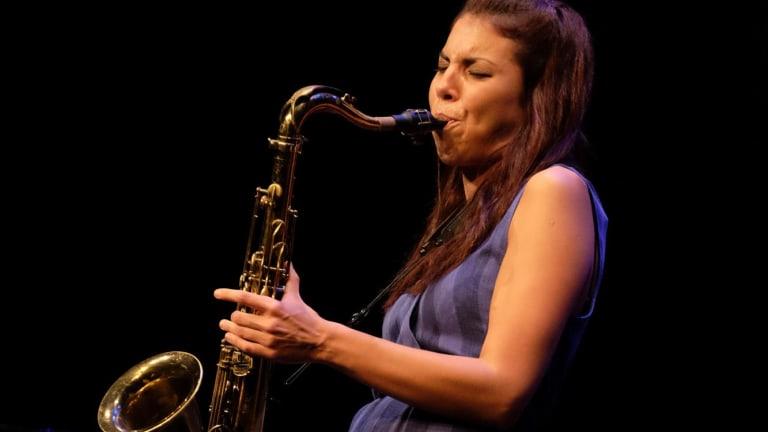 Melissa Aldana: fluid and precise.