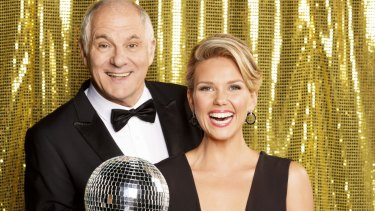 <i>Dancing with the Stars</i> 2015 hosts Shane Bourne and Edwina Bartholomew are a cute combination.