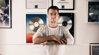 Nathan Maclay, founder of Future Classic, home to acts such as Flume, Flight Facilities and Chet Faker.