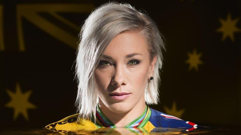 Canberra BMX star Caroline Buchanan is in good spirits following an horrific accident near Canberra on Saturday.