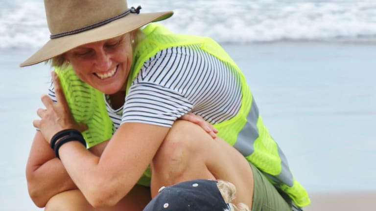 Dr Amanda Lloyd, a part-time teacher at St Mary's Star of the Sea primary school in Milton on NSW's south coast.
