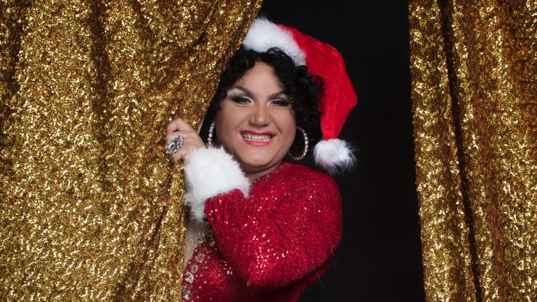 Trevor Ashley, performer and drag artist, will host the Show Queen – Christmas Showcase on December 17.