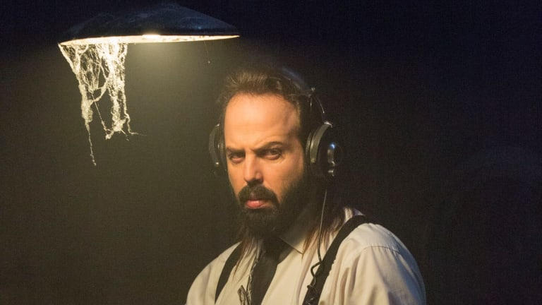 Angus Sampson as Tucker in the supernatural thriller.