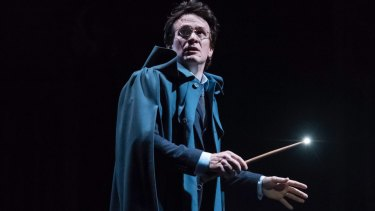 Jamie Parker as Harry Potter in The Cursed Child.