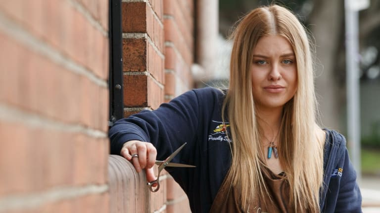 Hairdresser Melanie Coombes Says Many Hairdressers Are Paid Peanuts And Struggle To Pay Their