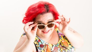 Kath Read, a size 26, has found pride and purpose via her website and blog, Fat Heffalump: Living With Fattitude.