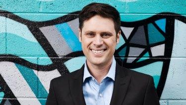 Sacked SBS presenter Scott McIntyre.