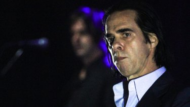 Nick Cave and the Bad Seeds were off the Riverstage at 10pm sharp.