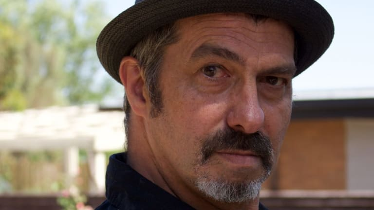 Author Andrew Masterson.