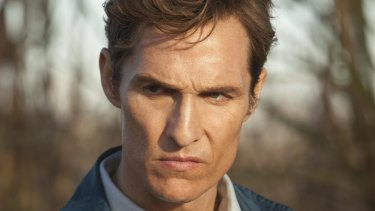 Use your words, Matthew: McConaughey in <i>True Detective</i>.