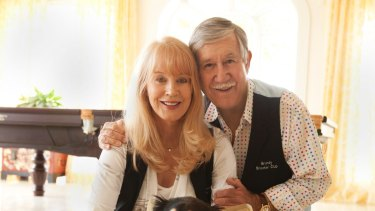 The late Reg Grundy and his his widow Joy Chambers Grundy.
