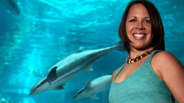 Shark researcher Jodie Rummer is predicting which sharks will cope best with climate change.