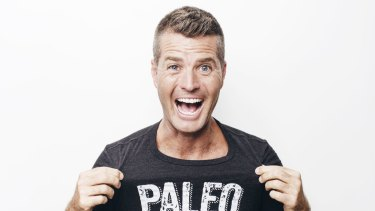 Chef and pusher of the paleo diet Pete Evans.