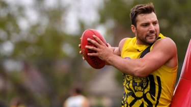 Toby Nankervis is enjoying life as a Tiger.