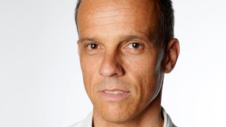 Author Tim Elliott.
