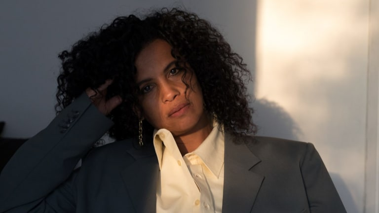 Neneh Cherry: measuring intimate situations against the ugly framework of contemporary society.