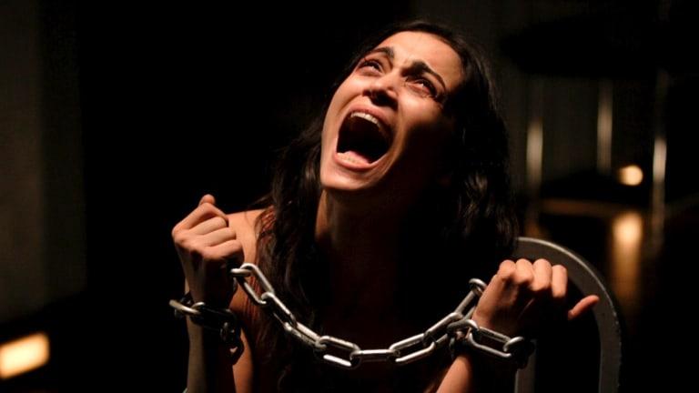 Morjana Alaoui's ordeal is repellent in <i>Martyrs</i>.