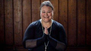 "Sarah Harry is a self described ""fat activist"", psychotherapist, and yoga teacher."
