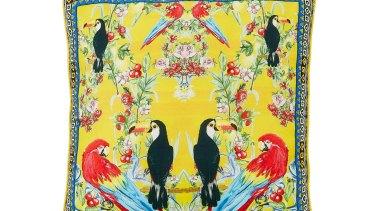 Camilla Franks Love Birds cushion, $179.