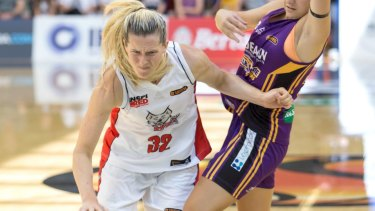 WNBA-bound: Sami Whitcomb.