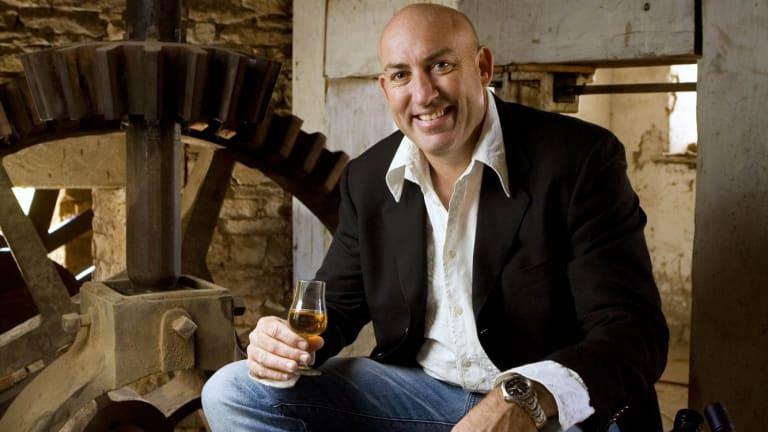 Keith Batt of the Nant Estate distillery in Tasmania.
