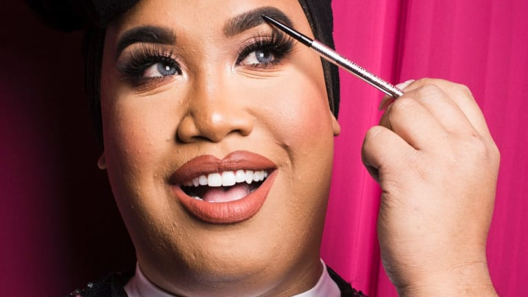 Beauty blogger Patrick Starrr, the extravagant star of the beauty world met with fans in Sydney earlier this year.