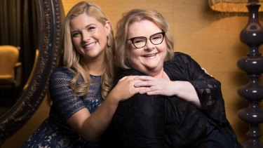 Magda Szubanski (right) and Lucy Durack have a complicated mother-daughter relationship in Sisters.