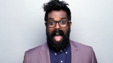 Romesh Ranganathan is well-known on the British panel show circuit. f9a7a1ad9