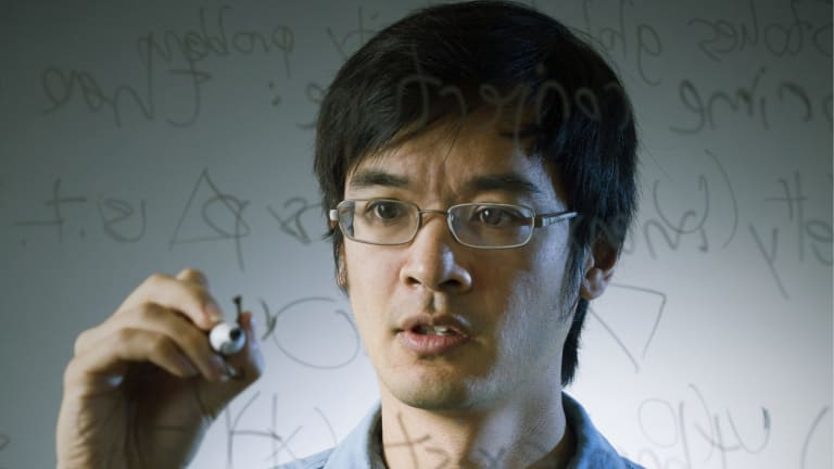 Problem solver: Mathematics maestro Terry Tao.