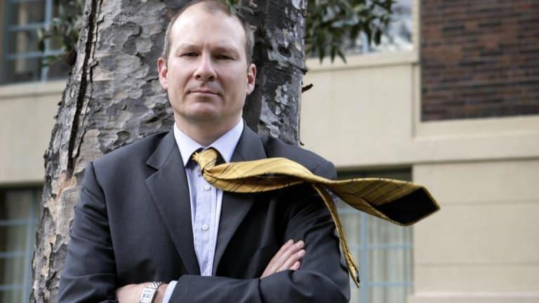 Making a stand: CBus chief executive David Atkin.