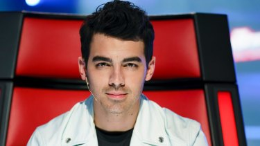 New boy Joe Jonas.