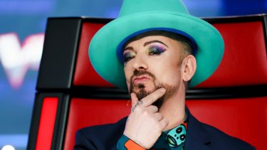 Boy George has been a coach on the UK and the Australian versions of The Voice.
