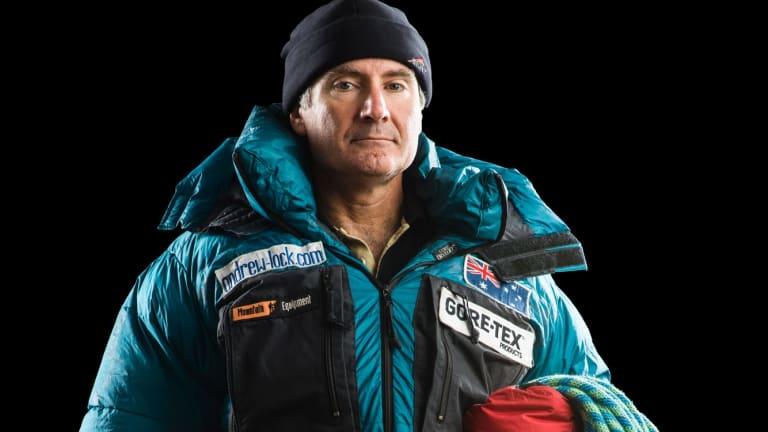 Climber Andrew Lock.
